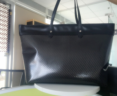 high quality hand made Carbon Fiber Bag