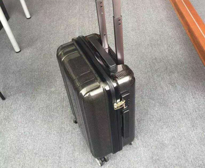great quality carbon fiber suitcase