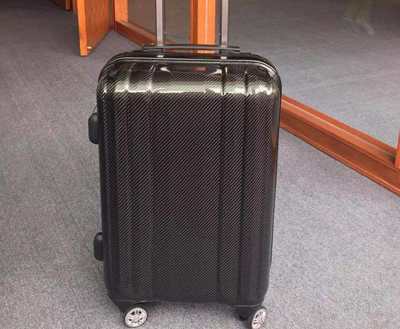 best selling wholesale blank carbon fiber suitcase
