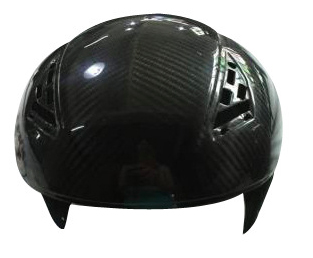 best selling superior quality twill carbon fiber Motorbike part