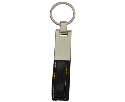 Metal  Flexible Real Carbon Fiber Key Chains
