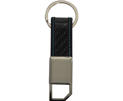 Metal Keychain Real Carbon Fiber Key Chains