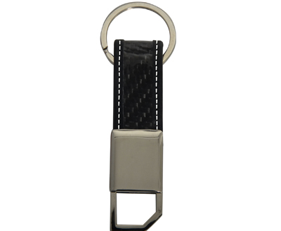 Metal Real Carbon Fiber Key Chains